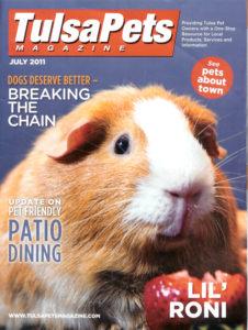 Cover of Tulsa Pets Magazine