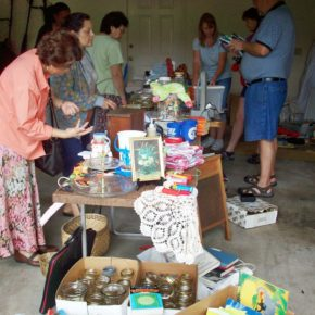 Yard Sale in Austin by Elayne Crain