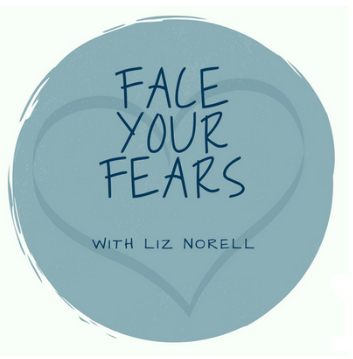 Face Your Fears, the Podcast! logo